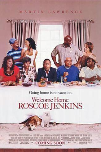 Welcome Home Roscoe Jenkins Doppelseitiges Poster