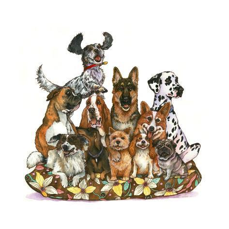 Dog Ears Giclée-Druck