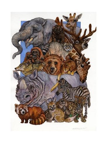 Mammals Giclée-Druck