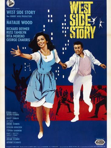West Side Story Kunstdruck