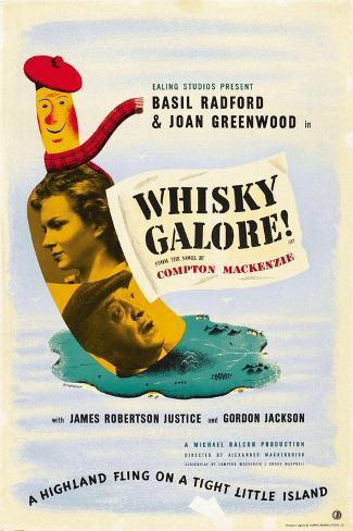 Whisky Galore Kunstdruck