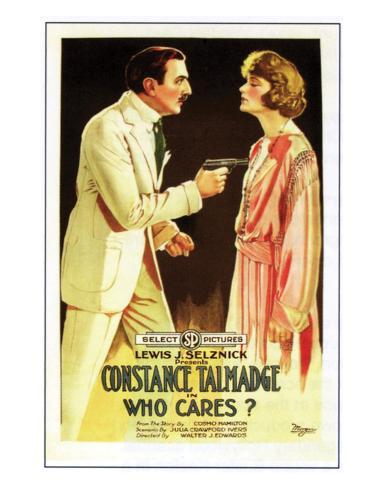 Who Cares? - 1919 Giclée-Druck