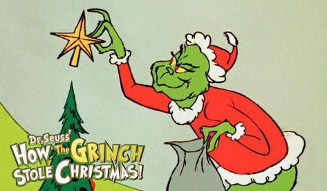 Wie der Grinch Weihnachten gestohlen hat Neuheit