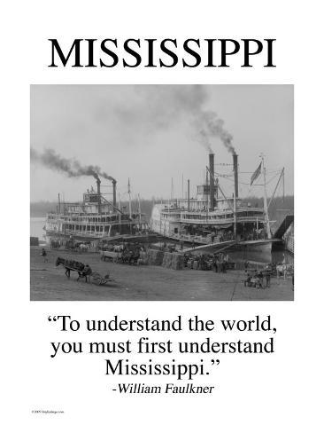 Mississippi Kunstdruck