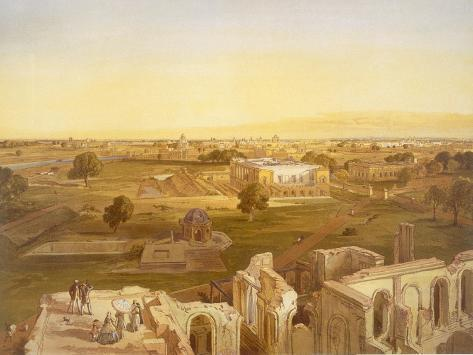 Lucknow, from 'India Ancient and Modern', 1867 (Colour Litho) Giclée-Druck