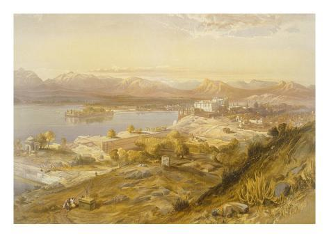 Oodypure, from 'India Ancient and Modern', 1867 (Colour Litho) Giclée-Druck