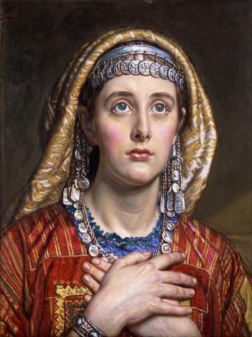 The Bride of Bethlehem, 1884 Giclée-Druck