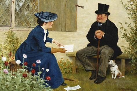 The Contract Giclée-Druck