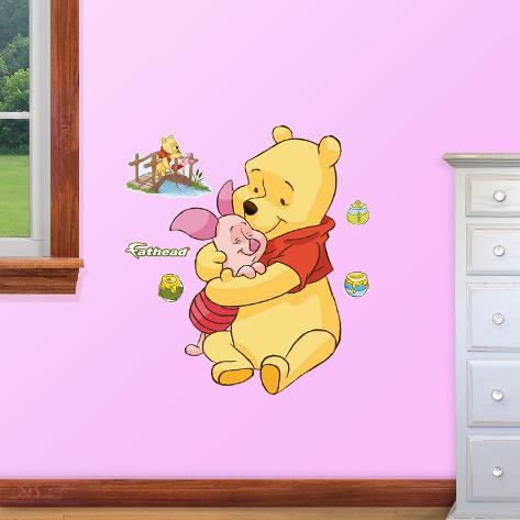 Muursticker Winnie The Pooh.Winnie The Pooh Jr Wall Decal Sticker Muursticker Bij Allposters Nl