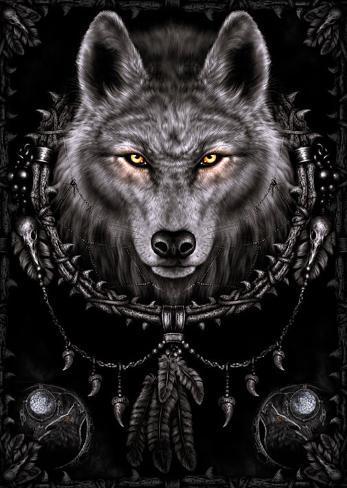 Wolfsträume Poster