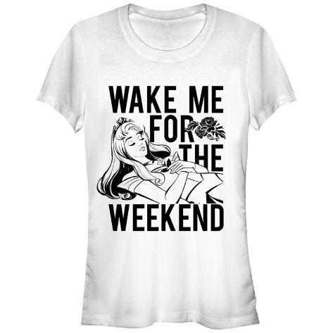 Women's: Disney: Sleeping Beauty- Wake Aurora For The Weeknd Damen-T-Shirts