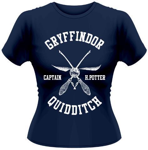 Women's: Harry Potter- Quidditch Captain Dames-T-shirts