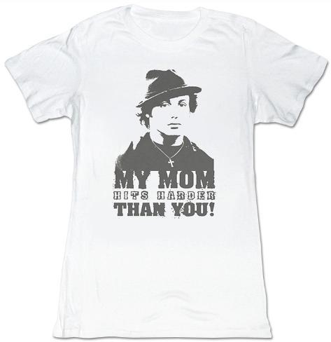 Women's: Rocky - My Mom Hits Harder Damen-T-Shirts