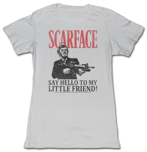 Women's: Scarface - Say Hello Damen-T-Shirts