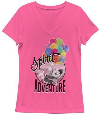 Women's: Up- Spirit Of Adventure Dames-T-shirts