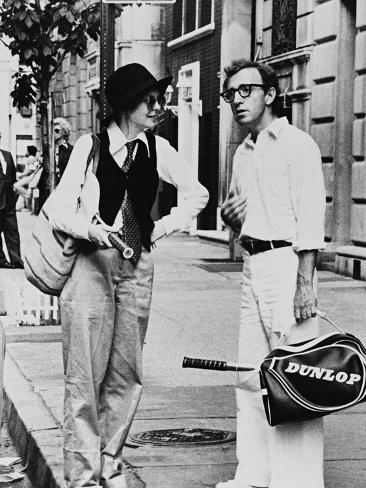 Woody Allen, Diane Keaton, Annie Hall, 1977 Fotografie-Druck