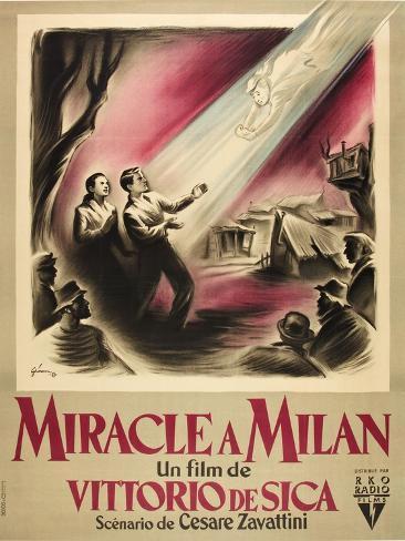 Wunder von Mailand, Das Kunstdruck