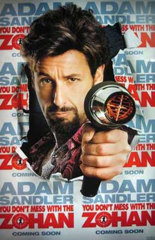 You Don't Mess With The Zohan Doppelseitiges Poster