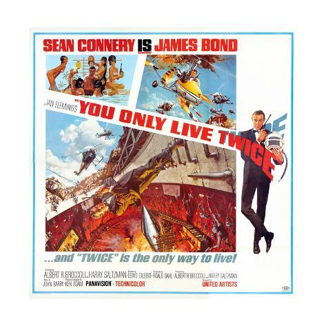 You Only Live Twice, Sean Connery, 1967 Giclée-Druck