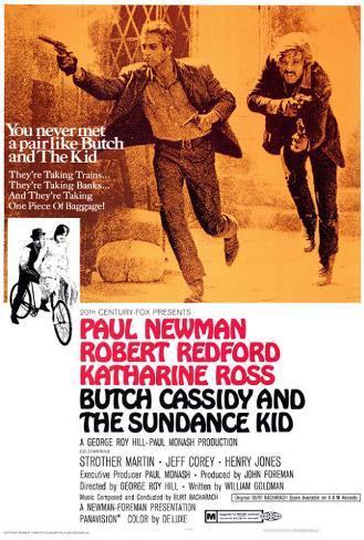 Zwei Banditen– Butch Cassidy und Sundance Kid Poster