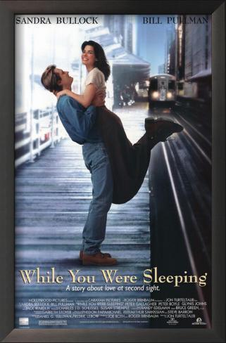 あなたが寝てる間に…(1995年) 額入りアートプリント