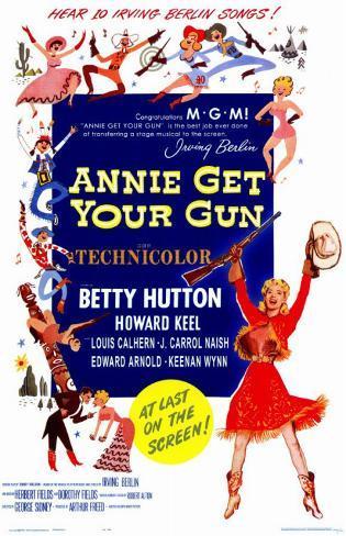 アニーよ銃をとれ(1950年) マスタープリント