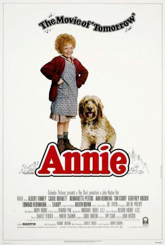 アニー(1982年) ポスター