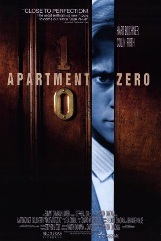 アパートメント・ゼロ(1988年) マスタープリント