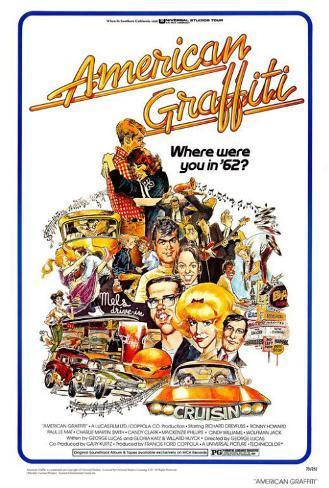 アメリカン・グラフィティ(1973年) マスタープリント