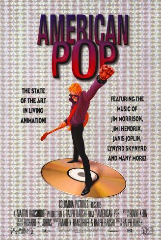 アメリカン・ポップ(1981年) ポスター