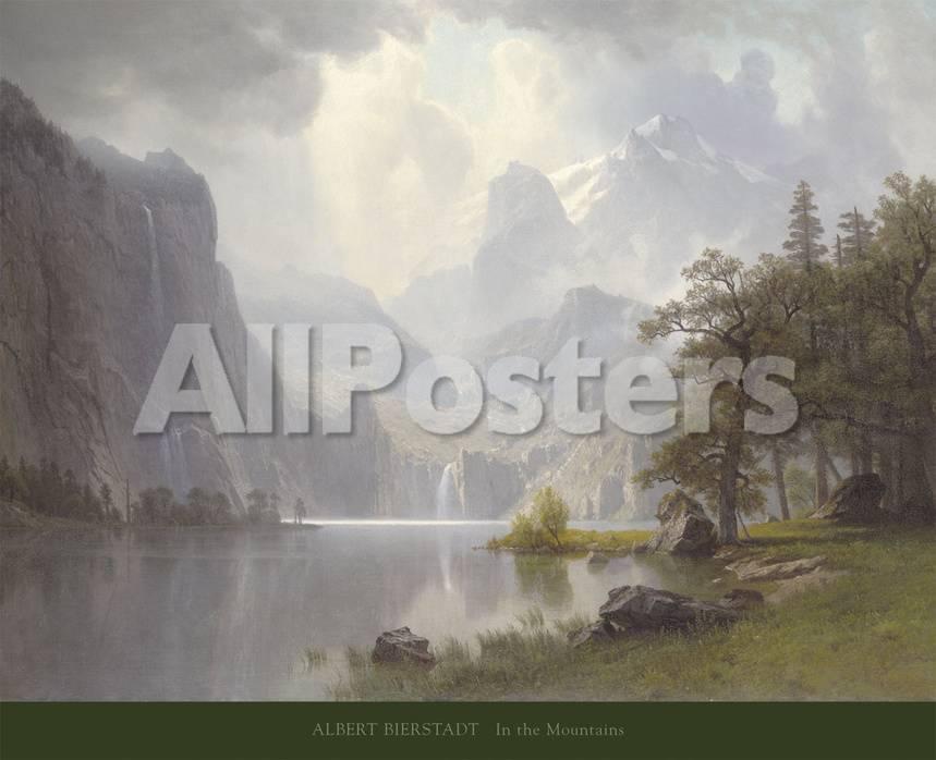 オールポスターズの アルバート ビアスタット in the mountains c