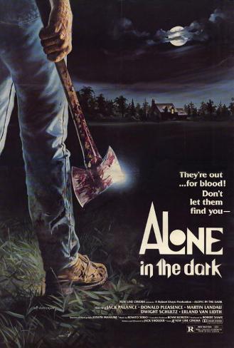 アローン イン ザ ダーク(1982年) ポスター