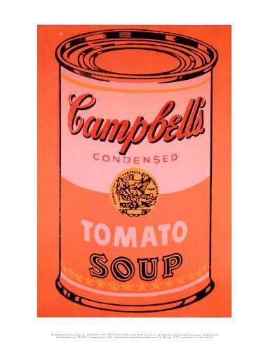 オールポスターズの アンディ ウォーホル キャンベルスープ缶