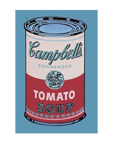 オールポスターズの アンディ ウォーホル キャンベルスープ缶 ピンク