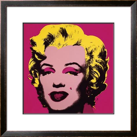 Marilyn, c.1967 (Hot Pink) 額入りアートプリント