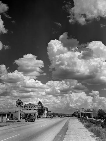 オールポスターズの アンドレアス ファイニンガー cumulus clouds