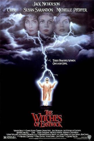 イーストウィックの魔女たち 額入りポスター