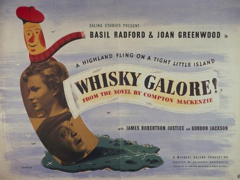 ウィスキー・ガロア!(1949年) アートプリント