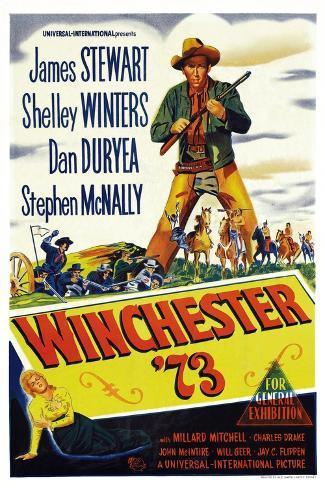 ウィンチェスター銃'73(1950年) アートプリント
