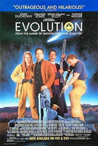 エボリューション(2001年) オリジナルポスター