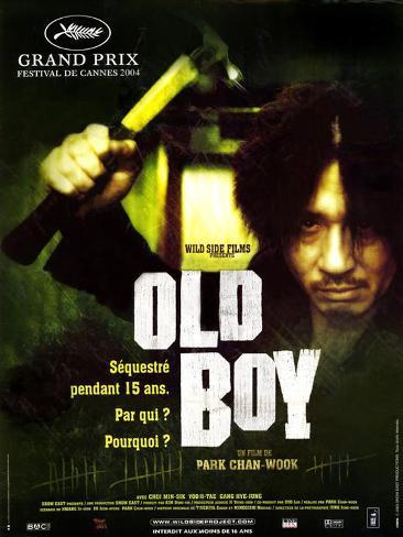 オールド・ボーイ|Oldboy ポスター