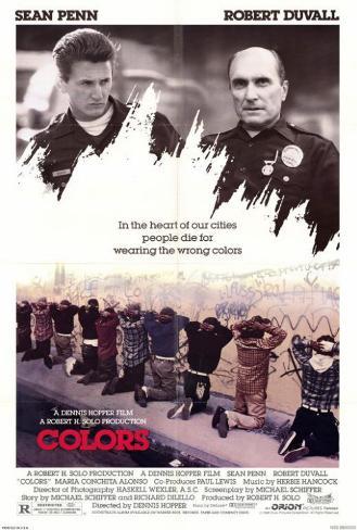 カラーズ 天使の消えた街(1988年) ポスター