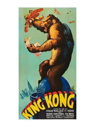 キング・コング, 1933 アートプリント