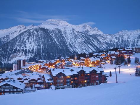 オールポスターズの ギャビン ヘラー courchevel 1850 ski resort in