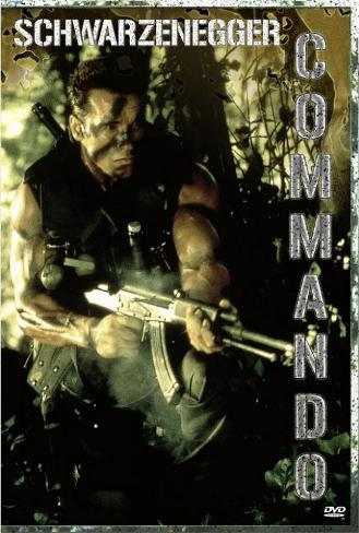 コマンドー(1985年) ポスター