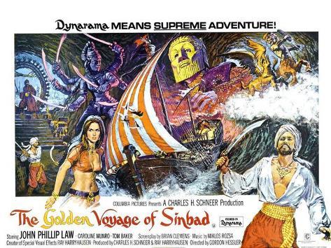 シンドバッド黄金の航海 ポスター