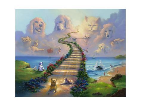 オールポスターズの ジム ウォーレン all pets go to heaven ジクレー
