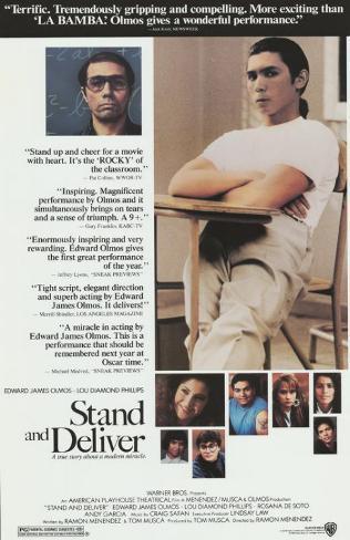 スタンド・アンド・デリバー(1988年) マスタープリント