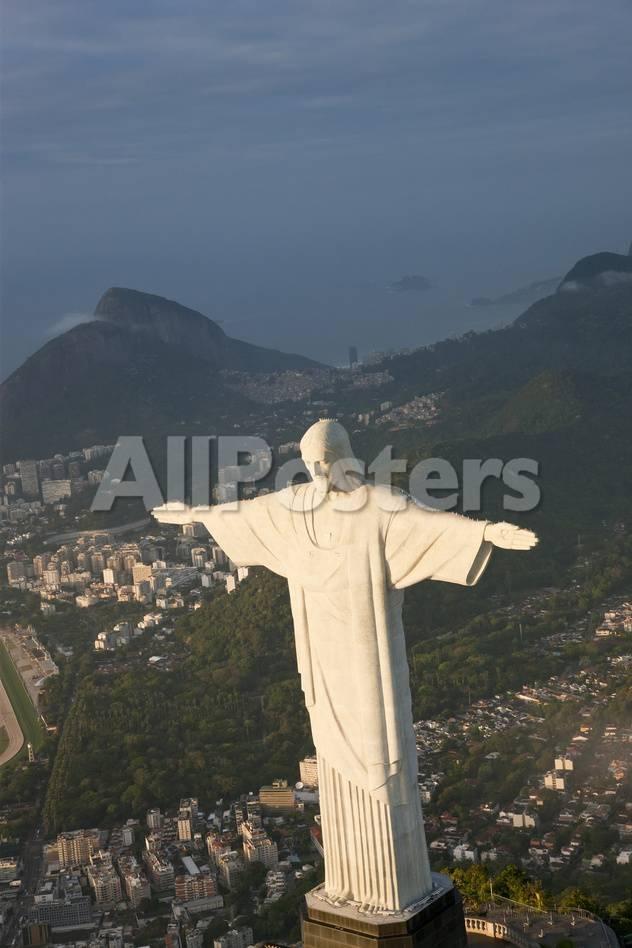 オールポスターズの ピーター アダムス art deco statue of jesus