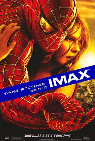 スパイダーマン2(2004年) 両面印刷ポスター